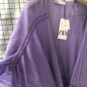 Zara Dresses - Zara maxi wrap dress xs/s
